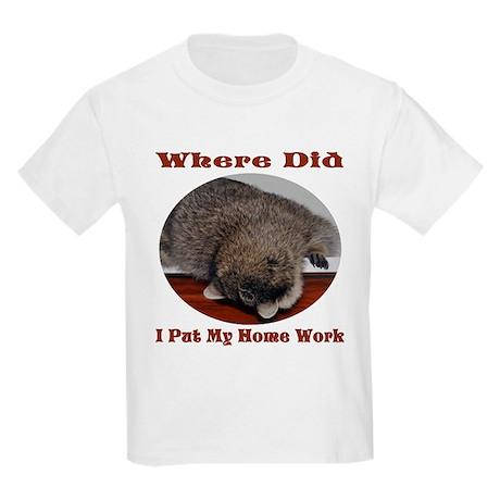 Raccoon Kids Light T-Shirt