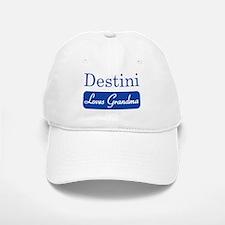 Destini loves grandma Baseball Baseball Cap