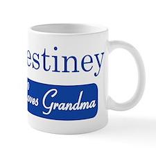 Destiney loves grandma Mug