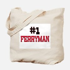 Number 1 FERRYMAN Tote Bag