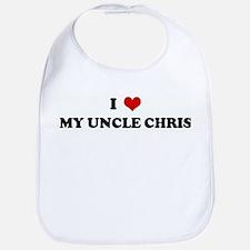 I Love MY UNCLE CHRIS Bib