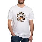 Buddha Is My Om Boy Fitted T-Shirt