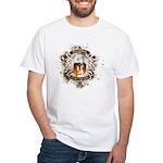 Buddha Is My Om Boy White T-Shirt