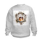 Buddha Is My Om Boy Kids Sweatshirt