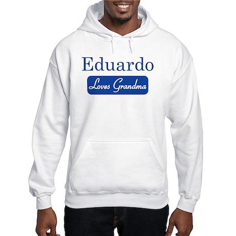 Eduardo loves grandma Hooded Sweatshirt