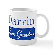 Darrin loves grandma Mug