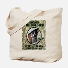 Honor the Soldier Tote Bag