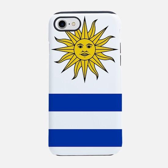 Flag of Uruguay iPhone 7 Tough Case