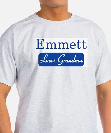 Emmett loves grandma T-Shirt