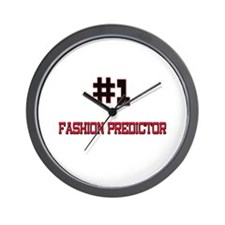 Number 1 FASHION PREDICTOR Wall Clock