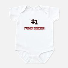 Number 1 FASHION DESIGNER Infant Bodysuit