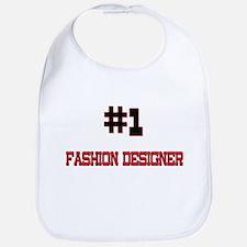 Number 1 FASHION DESIGNER Bib