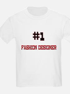 Number 1 FASHION DESIGNER T-Shirt