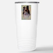 Sheltie Dog Stainless Steel Travel Mug