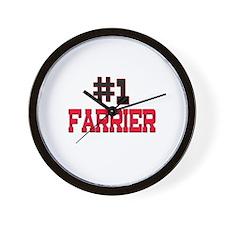 Number 1 FARRIER Wall Clock