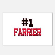Number 1 FARRIER Postcards (Package of 8)