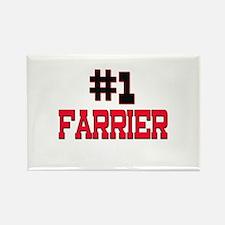 Number 1 FARRIER Rectangle Magnet