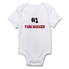 Number 1 FARM MANAGER Infant Bodysuit