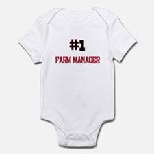 Number 1 FARM MANAGER Infant Bodysuit