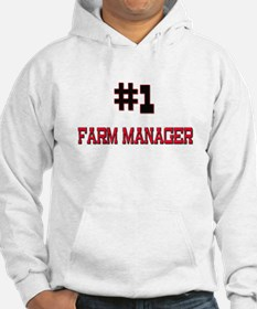 Number 1 FARM MANAGER Hoodie