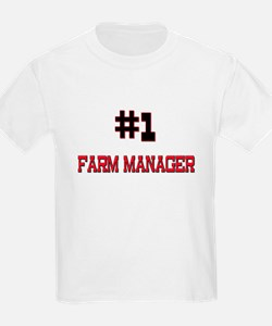 Number 1 FARM MANAGER T-Shirt