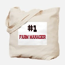 Number 1 FARM MANAGER Tote Bag
