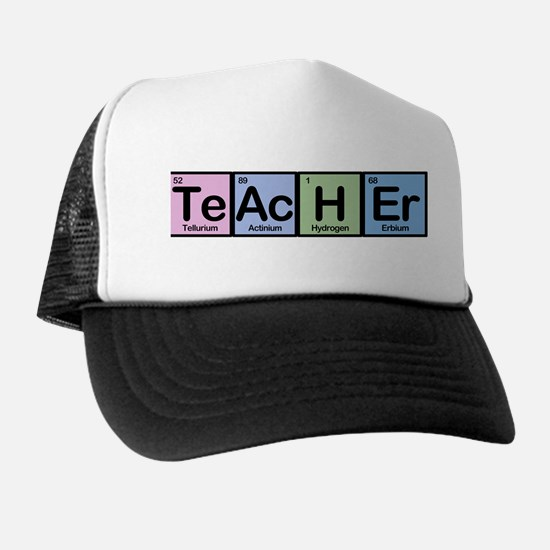 Teacher made of Elements Trucker Hat