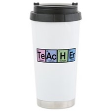 Teacher made of Elements Thermos Mug