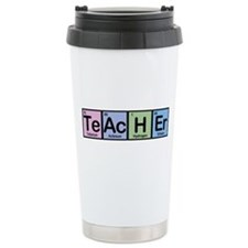 Teacher made of Elements Travel Mug