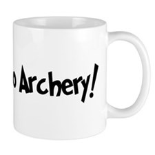 Addicted to Archery Small Mug