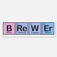 Brewer made of Elements Bumper Sticker (50 pk)