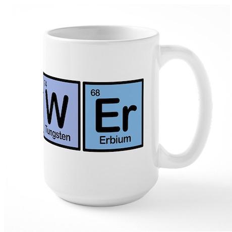 Brewer made of Elements Large Mug