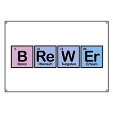 Brewer made of Elements Banner