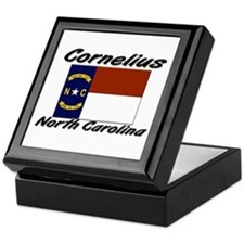 Cornelius North Carolina Keepsake Box