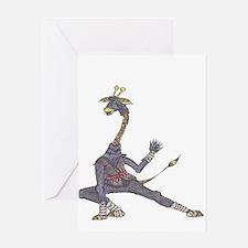 Cute Ninja Greeting Card