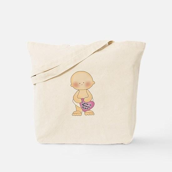 Adoption Heart Tote Bag