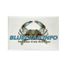 Funny Blue crab Rectangle Magnet
