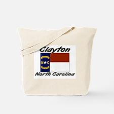 Clayton North Carolina Tote Bag
