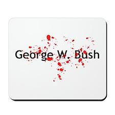 Blood Spattered Bush - Mousepad