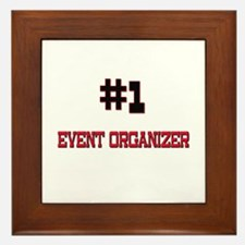 Number 1 EVENT ORGANIZER Framed Tile