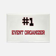 Number 1 EVENT ORGANIZER Rectangle Magnet