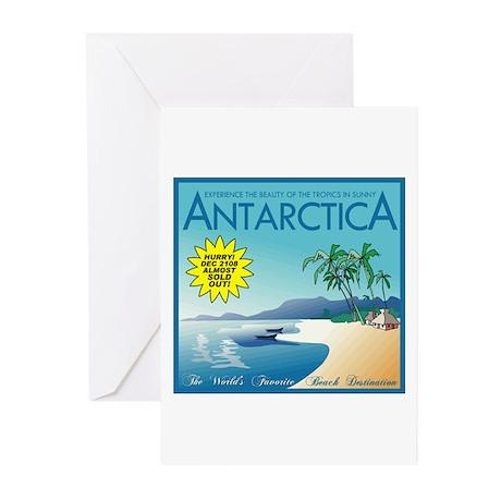 Visit Tropical Antarctica Greeting Cards (Pk of 10