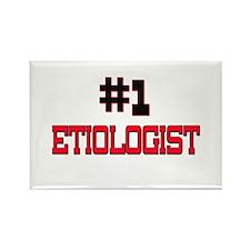 Number 1 ETIOLOGIST Rectangle Magnet