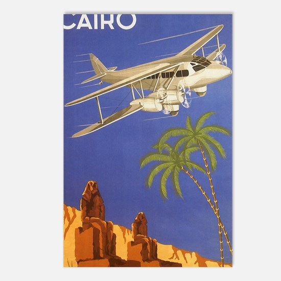 Vintage Travel Poster Cairo Egypt Postcards (Packa