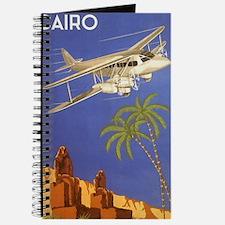 Vintage Travel Poster Cairo Egypt Journal