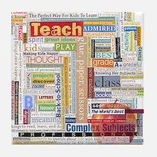 Teacher Tile Coaster