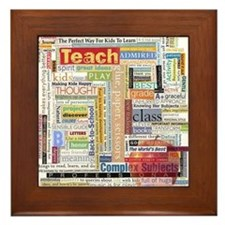 Teacher Framed Tile