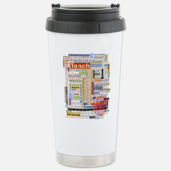 Teacher Stainless Steel Travel Mug