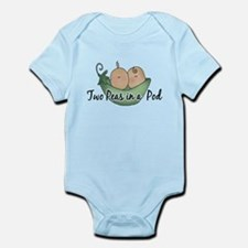 Twins (pea pods) Infant Bodysuit