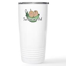 Twins (pea pods) Travel Mug